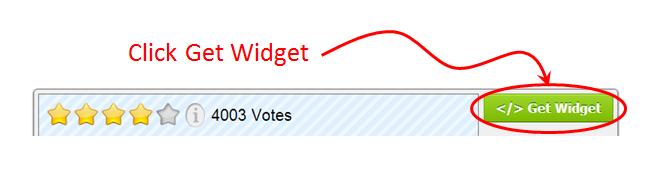 Rating-Widget's Get Widget Button
